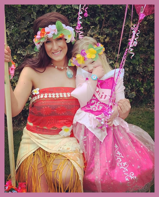 The Adventure Princess with party child